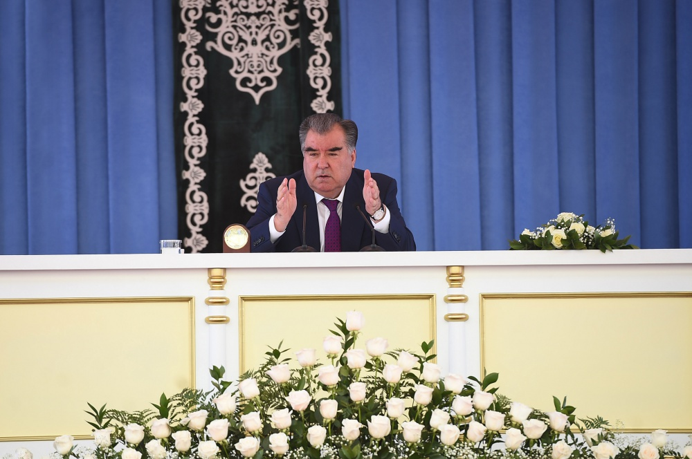 Participation of the Founder of Peace and National Unity - Leader of the Nation, President of the Republic of Tajikistan, his excellency Emomali Rahmon in the celebration of the Day of Knowledge, and holding a Peace Lesson at the ATSMU