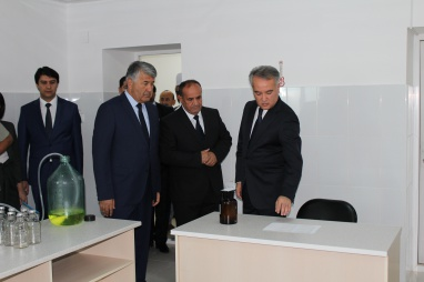 "Opening the Center of Education, Science and Production ""Farmacia"" at University."